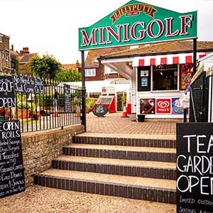 Minigolf Course in Thanet