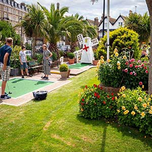 Family fun Minigolf Course